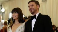 Justin Timberlake et Jessica Biel sont devenus parants de Silas Randall le 11 avril 2015