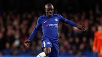 N'Golo Kanté évolue désormais au club de Chelsea.
