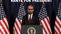 Kanye West fait l'objet de nombreux détournements depuis qu'il a manifesté son envie d'être président