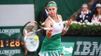 Kristina Mladenovic jouait son premier quart de finale à Roland-Garros.