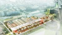 Une immense friche industrielle va être réhabilitée à La Courneuve (93) dans le cadre de l'appel à projets.