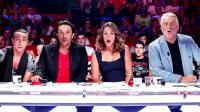 Les jurés : Giuliano Peparini, Olivier Sitruk, Lorie Lester et Gilbert Rozon