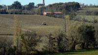 Une exploitation agricole dans le Lauragais en novembre 2015