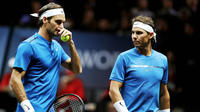 La compétition a permis de voir Roger Federer et Rafael Nadal jouer leur premier match ensemble.