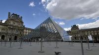 Le Louvre est toujours l'un des musées les plus courus du monde