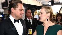 Leonardo DiCaprio et Kate Winslet aux SAG Awards le 30 janvier 2016