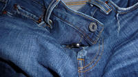 Troquer ses vieux jeans contre des bons  d'achat chez Carrefour