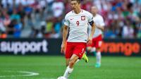 L'attaquant polonais Robert Lewandowski n'a toujours pas marqué depuis le début de l'Euro.