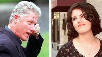Bill Clinton et Monica Lewinsky en 1998 (montage).