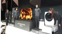 Les grandes marques, dont LG, ont présenté divers produits électroménager connectés.