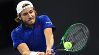 Lucas Pouille veut profiter du Rolex Paris Masters pour bien terminer la saison avant la finale de la Coupe Davis.