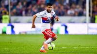 Nabil Fékir et les Lyonnais tenteront de conserver leur place sur le podium lors de la venue de Nice.