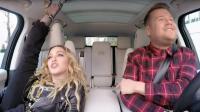 Madonna a fait preuve de souplesse dans le Carpool