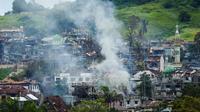 De violents combats opposent les jihadistes et l'armée philippine à Marawi, dans le nord de l'archipel.