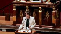 La ministre de la Santé Marisol Touraine devant l'Assemblée nationale, le 20 octobre 2015