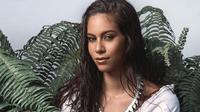 Âgée de 23 ans, Matahari Bousquet, miss Tahiti, voudrait travailler dans le milieu de la mode.