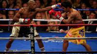 """Floyd Mayweather est sorti vainqueur aux points du """"combat du siècle"""" contre Manny Pacquiao."""