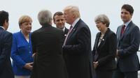 Angela Merkel, Emmanuel Macron, Donald Trump, Theresa May et Justin Trudeau seront présents à Portsmouth pour la première cérémonie du 75e anniversaire du débarquement de 1944.