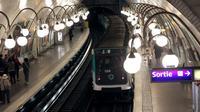Une station de métro.