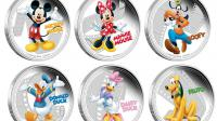 Les pièces de monnaie à l'effigie des personnages Disney [AFP]