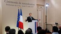 «Je ne veux plus de femmes et hommes dans les rues», a déclaré le président de la République.