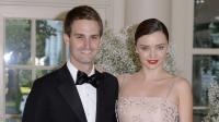Après un an de relation Miranda Kerr et Evan Spiegel envisagent déjà de se marier