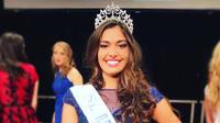 Lison Di Martino, miss Ile-de-France, est l une des 30 aspirantes au titre de Miss France 2018.