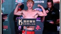 Yang Jian Bing voulait atteindre le poids de sa catégorie poids mouches.