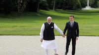 Le Premier ministre Narendra Modi avait rencontré Emmanuel Macron à Paris en juin 2017.
