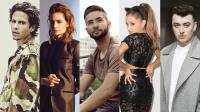 Nekfeu, Christine & The Queens, Kendji Girac, Ariana Grande, Sam Smith