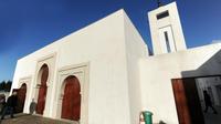 L'octogénaire a blessé deux personnes devant la mosquée de Bayonne.