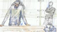 Mourad Farès, 35 ans, a été condamné vendredi soir à Paris à 22 ans de réclusion criminelle.