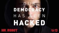 Le hacker dérangé de Mr. Robot alias Elliot (Rami Malek) appelle le peuple à se soulever