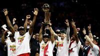 Le sacre des Toronto Raptors est une première pour une équipe de basket non-américaine.