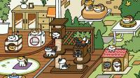 Le jeu permet d'élever plusieurs chats dans un jardin et une maison.