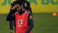 Neymar est actuellement au Brésil pour préparer la Copa America.