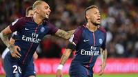 En deux rencontres sous le maillot du PSG, Neymar a inscrit trois buts et délivré autant de passes décisives.