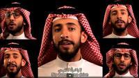 """Hisham Fageeh chantant """"No woman, no drive"""" [capture d'écran YouTube)"""