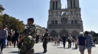 Le véhicule a été retrouvé près de Notre-Dame, l'un des lieux les plus visités au monde.