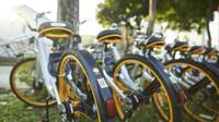 OBike, un service de vélos en libre-service importé de Singapour, a déposé 500 vélos dans tout Paris, le 9 novembre dernier.