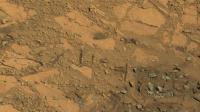 Photographie prise par Curiosity sur Mars le 14 août 2014