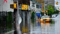 New York a déjà été victime de perturbations climatiques, comme lors de l'ouragan Irene en 2011