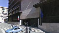Le palais de justice de Gênes.