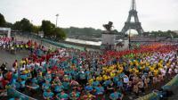 Près de 33 000 femmes ont pris le départ de La Parisienne dimanche.