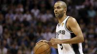 Pour son retour à la compétition, Tony Parker s'est incliné avec les Spurs.