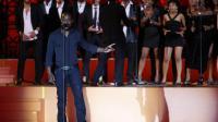 Le rappeur Kery James chante le 7 septembre 2013 à Nice pour l'ouverture des Jeux de la Francophonie [Valery Hache / AFP]