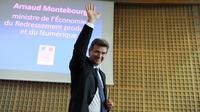 Arnaud Montebourg, le 25 août 2014 à Paris [Eric Piermont / AFP]