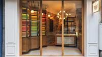 De savoureux pralinés réalisés par le chef Laurent Moreno attendent les visiteurs au 148, rue Saint-Honoré.