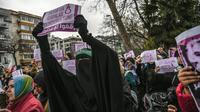 Des manifestants tenant des pancartes «Stop aux exécutions en Egypte», lors d'une manifestation contre la peine de mort devant le consulat égyptien à Istanbul, le 2 mars dernier.