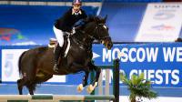 Valentin Belaud, ici lors de l'épreuve d'équitation, sera l'un des représentants français.